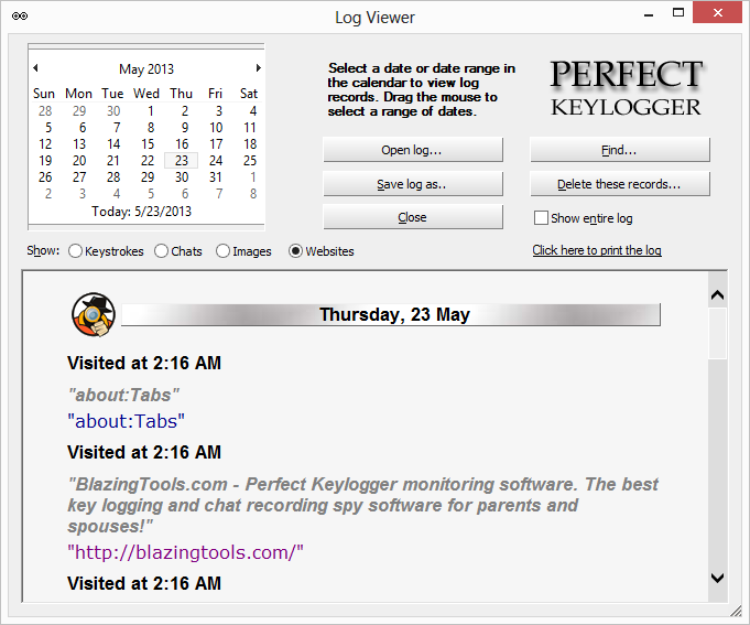 Perfect Keylogger - Review